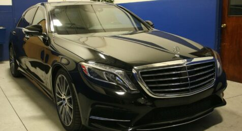 Bulletproof Mercedes Maybach S600
