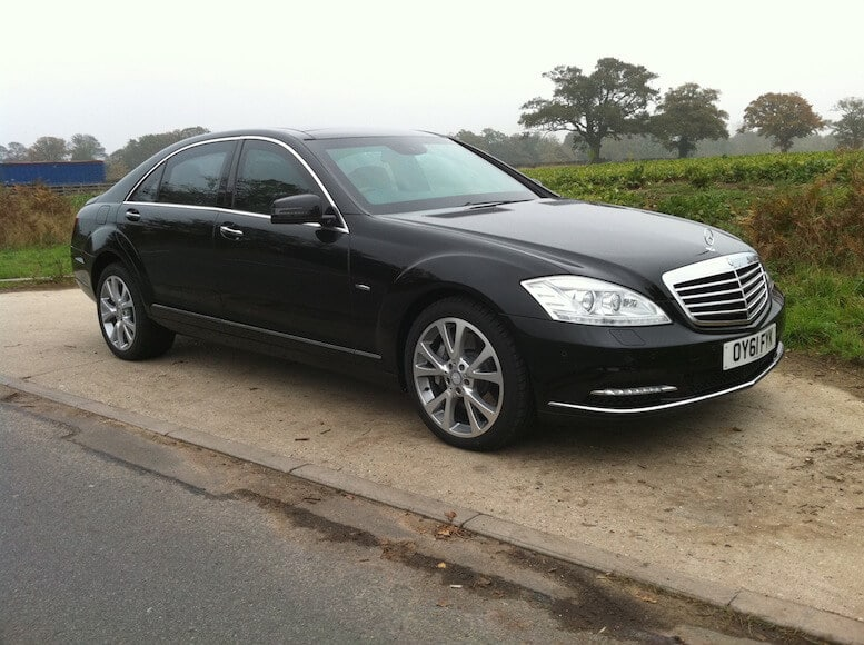 Bulletproof Mercedes-Benz S500 Series