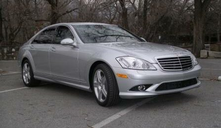 Bulletproof Mercedes-Benz S550