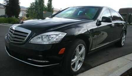 Bulletproof Mercedes-Benz S600 Black Sedan
