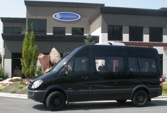 Bulletproof Mercedes-Benz Sprinter Van