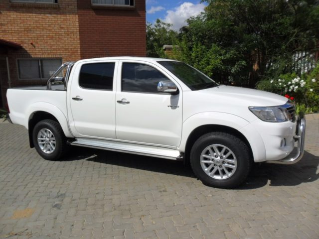 Bulletproof Toyota Hilux
