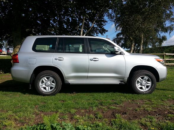 Bulletproof 2019 Toyota Land Cruiser 200