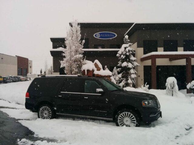 Bulletproof Lincoln Navigator SUV