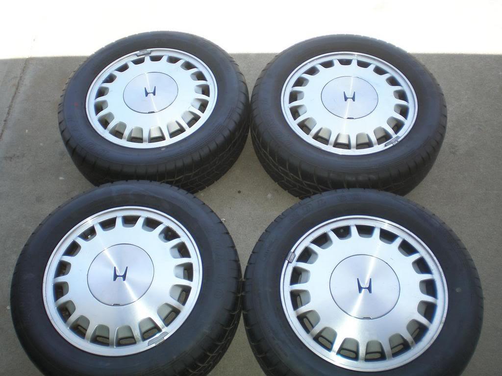 image of tires of honda accord