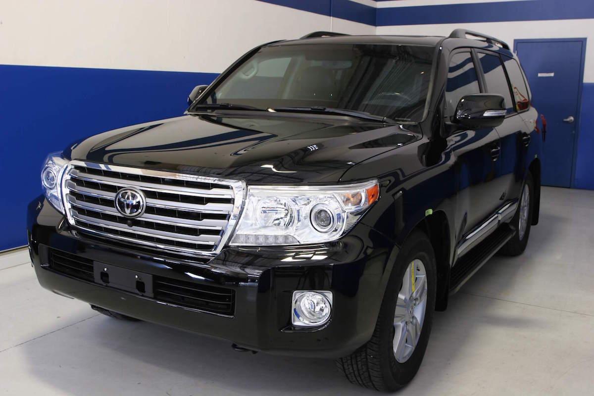 Toyota Suv For Sale >> Bulletproof 2014 Toyota Land Cruiser - Armormax