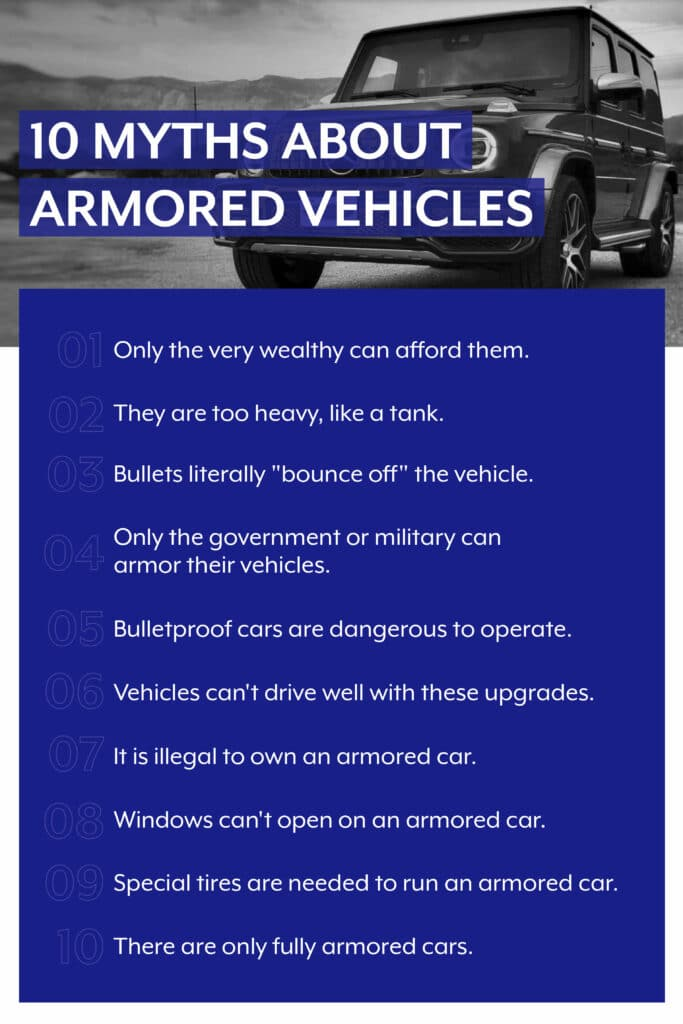 10 Myths About Armored Vehicles