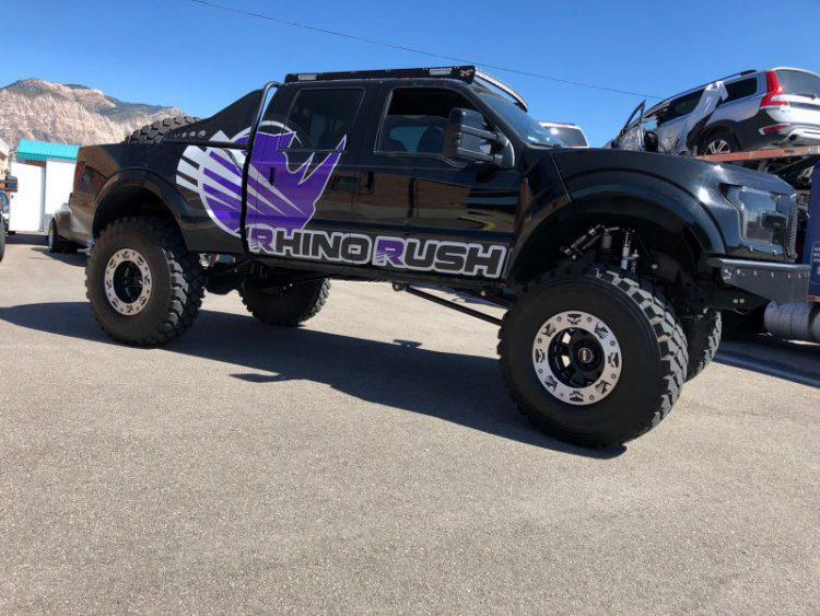 Rhino Rush truck at Armormax Ogden