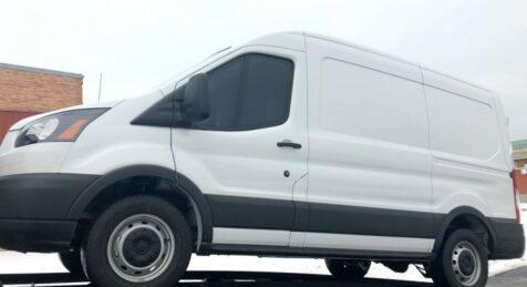 Armored truck CIT Van Mercedes Sprinter