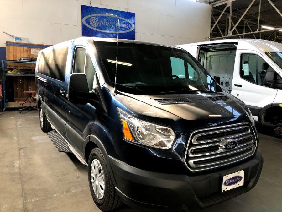 Bulletproof Truck Van Ford Transit