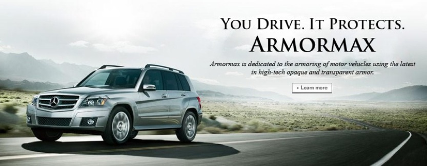 You Drive It Protects Armormax Logo
