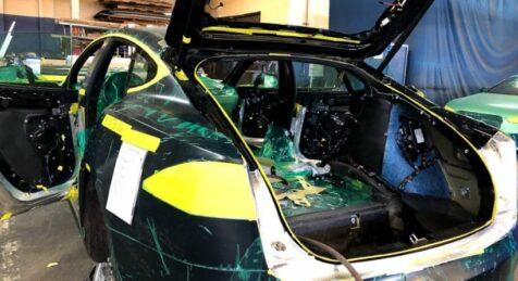 Tesla Rear Backllight