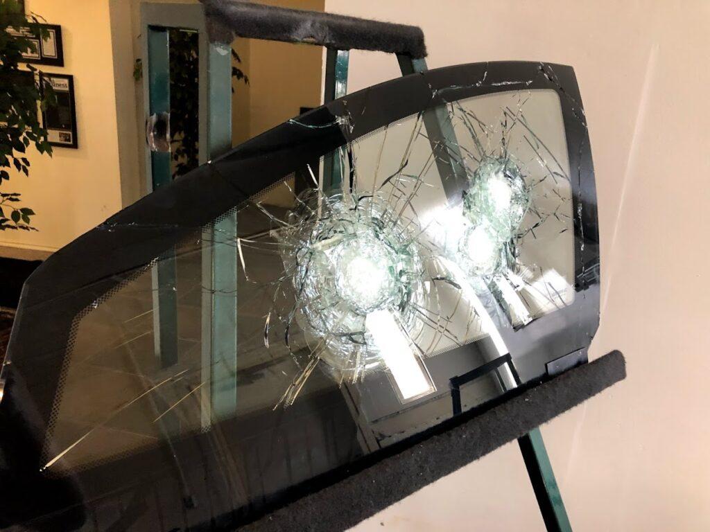 Sample Armored Glass