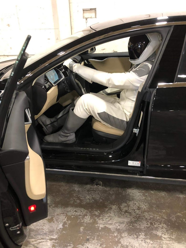 Starman My Tesla Adventure Eli