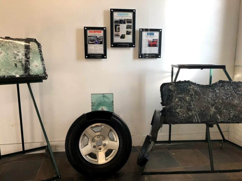 Gallery Runflats Tire Profiles and Bulletproof Glass
