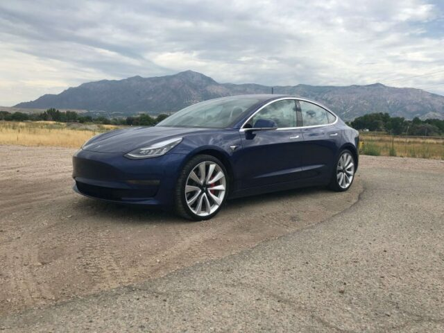 Bulletproof Tesla Model 3