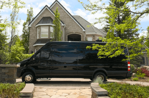 Bulletproof Conversion Mercedes Sprinter Van Executive Vehicle