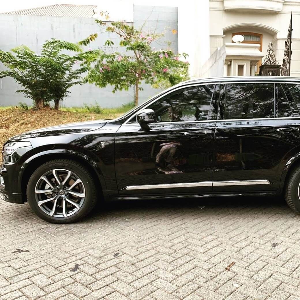 Armoured Volvo XC 90 Side Armormax