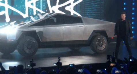 Elon Presenting Cybertruck