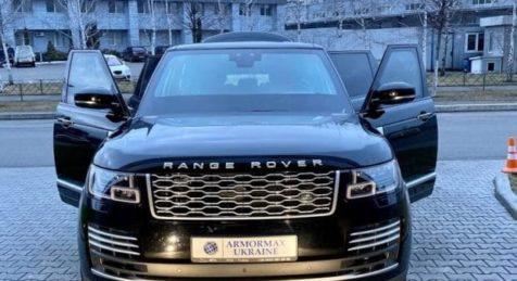 Armormax Ukraine Bulletproof Hybrid Range Rover LWB World's First UA
