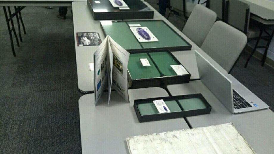 Armormax Glass Samples