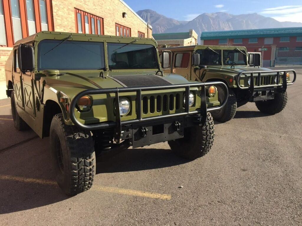 bulletproof Military Humvee