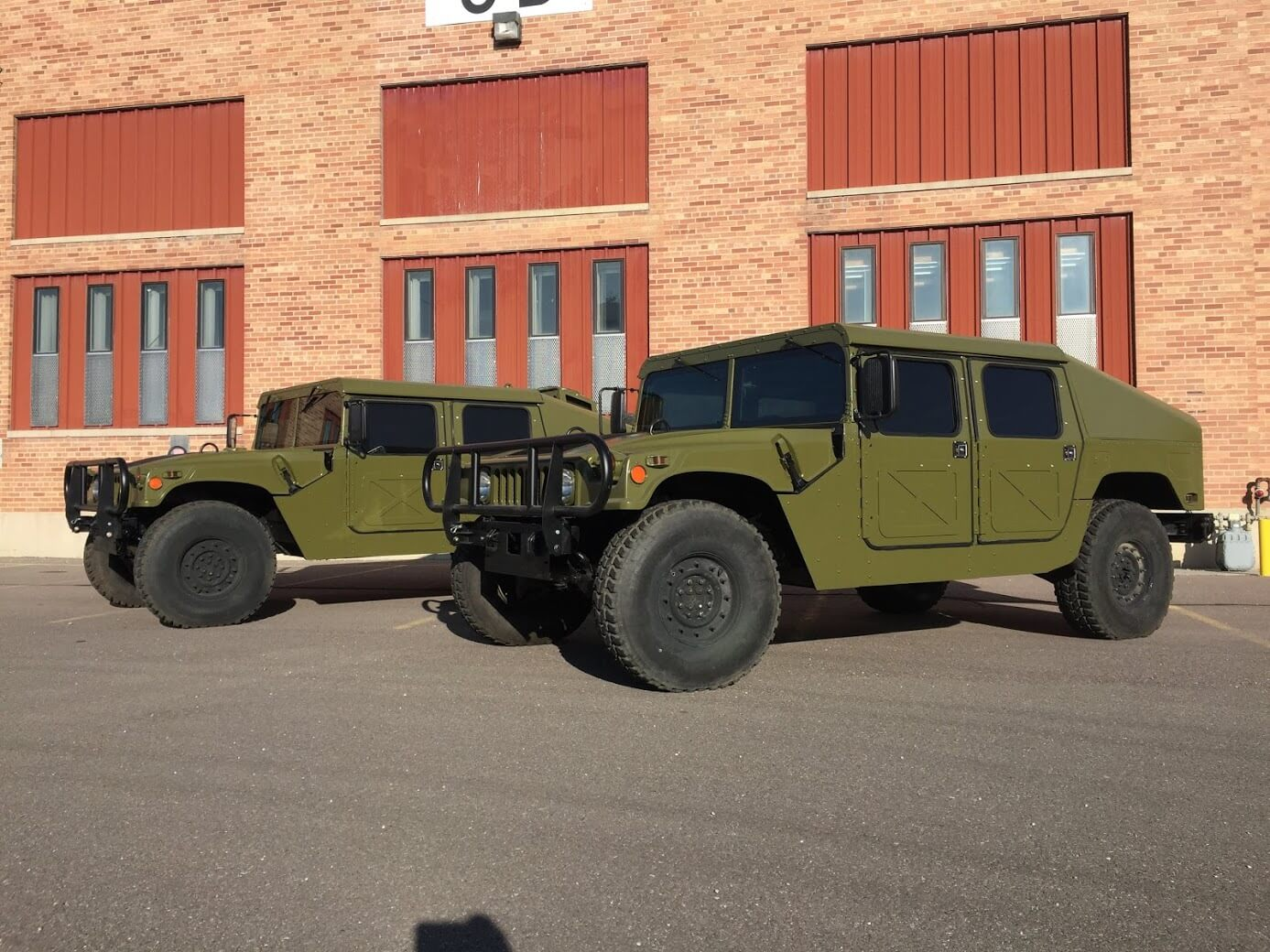Armoured Hummer Humvee with Armormax