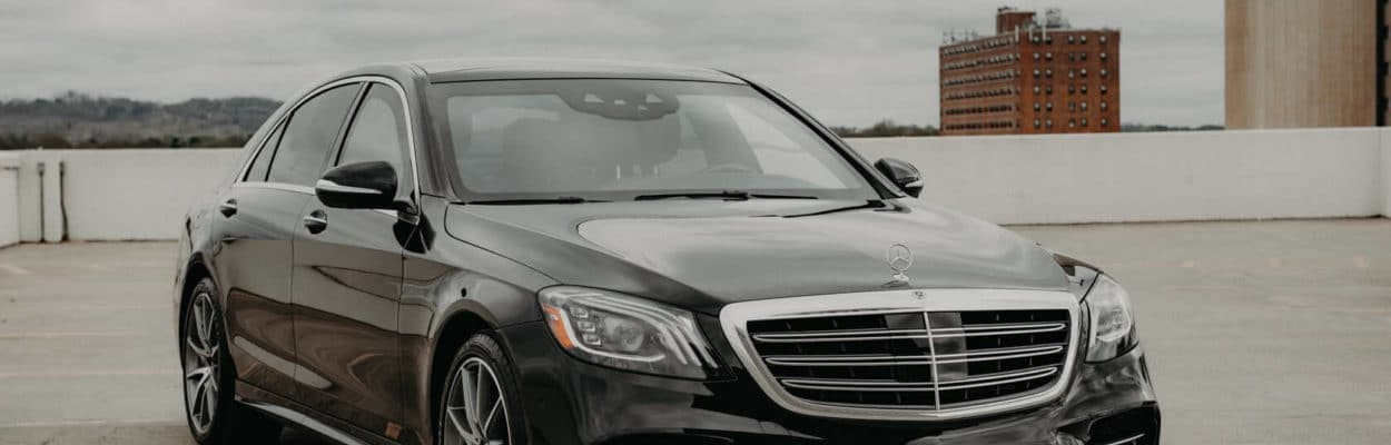 Front Bulletproof Mercedes S 560 by Armormax