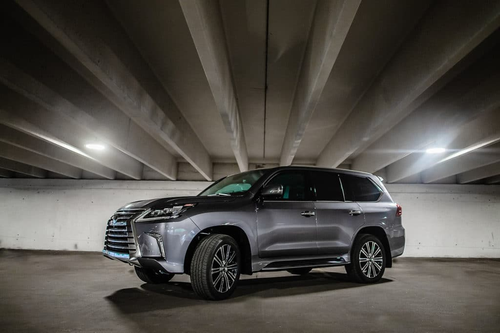 2020 Armored Lexus LX 570 with Armormax Silver