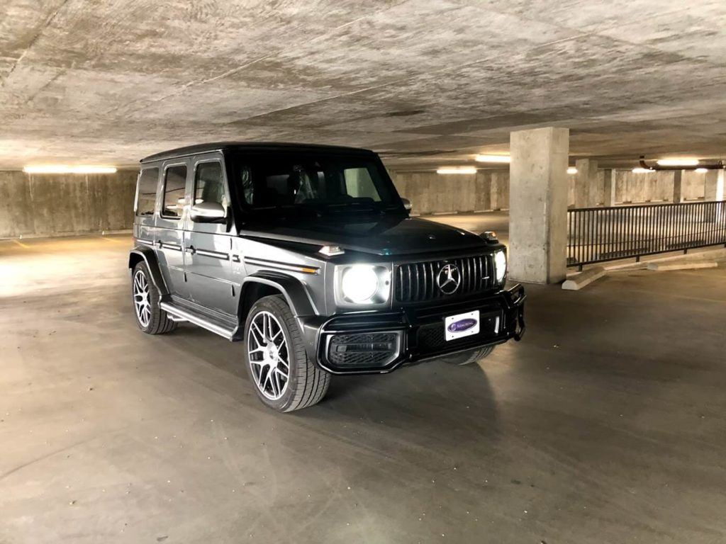 2020 Bulletproof Mercedes Benz G 63 AMG with Armormax Driving