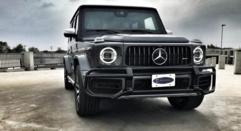 2020 Bulletproof Mercedes Benz G 63 AMG with Armormax Front