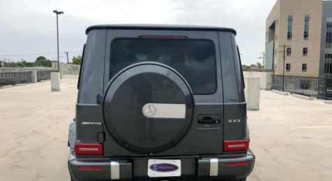 2020 Bulletproof Mercedes Benz G 63 AMG with Armormax Rear Logo
