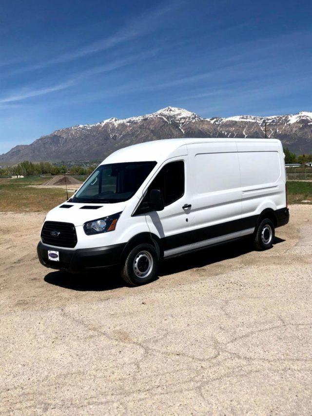 Bulletproof Ford Transit Cargo Van