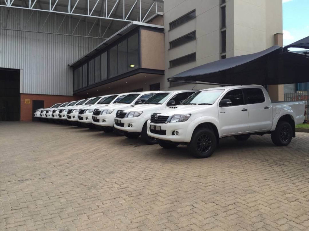 Armormax Hilux Project