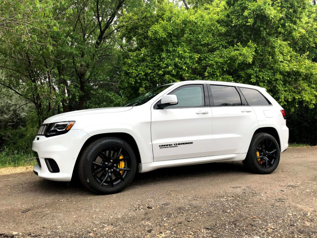 Armoured Jeep Grand Cherokee SRT TrailHawk with Armormax Off Road Driving
