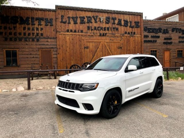 Bulletproof Jeep Grand Cherokee SRT Trackhawk