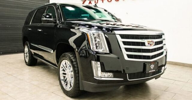 Bulletproof Cadillac Escalade For Sale