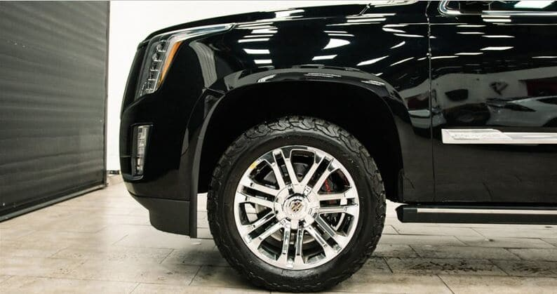 Bulletproof 2015 Escalade For Sale Tires