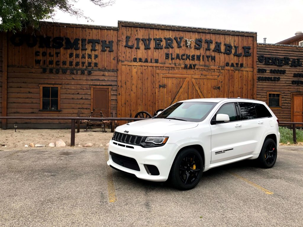 Bulletproof Jeep SRT TrailHawk with Armormax Gallery Ogden
