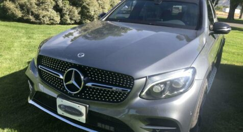 Bulletproof Mercedes Benz GLC 43 Armormax Sedan Outside