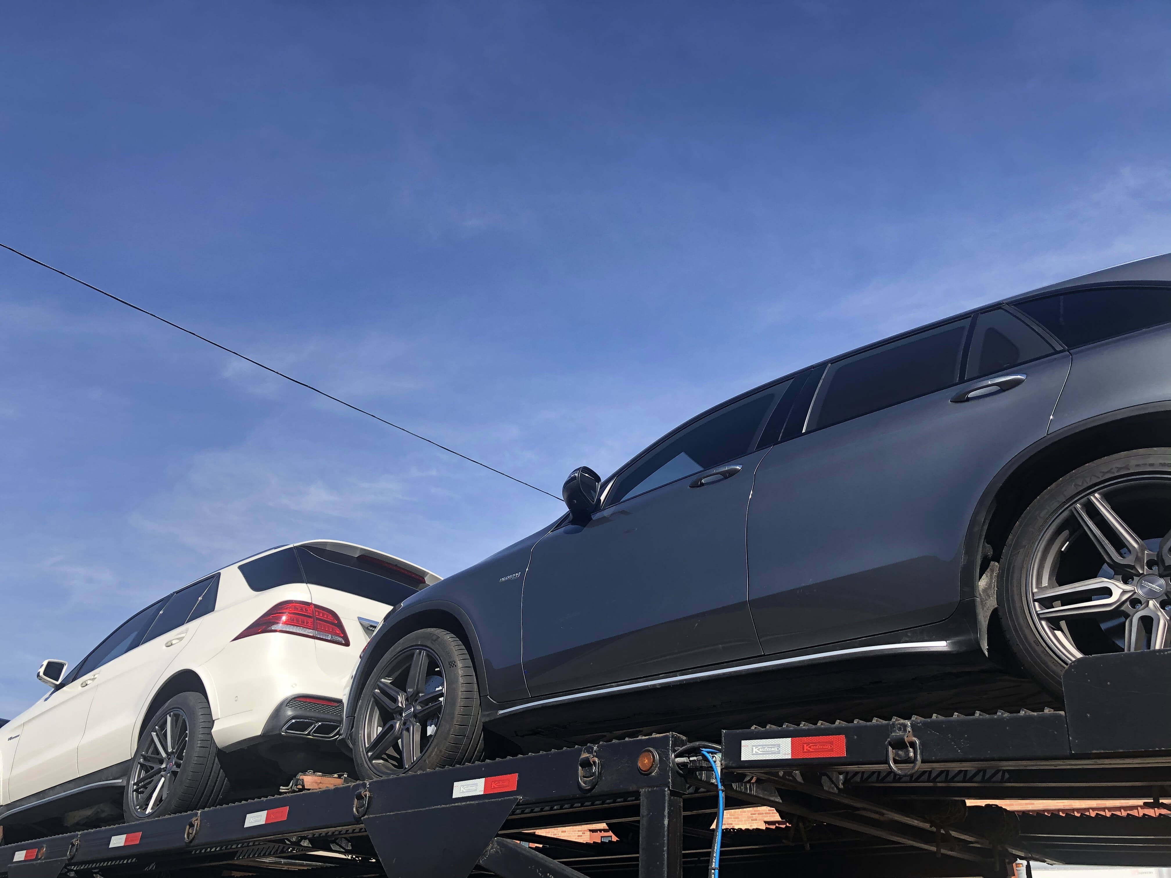Bulletproof Mercedes Benz GLC 43 Armormax Sedan Shipping Transport