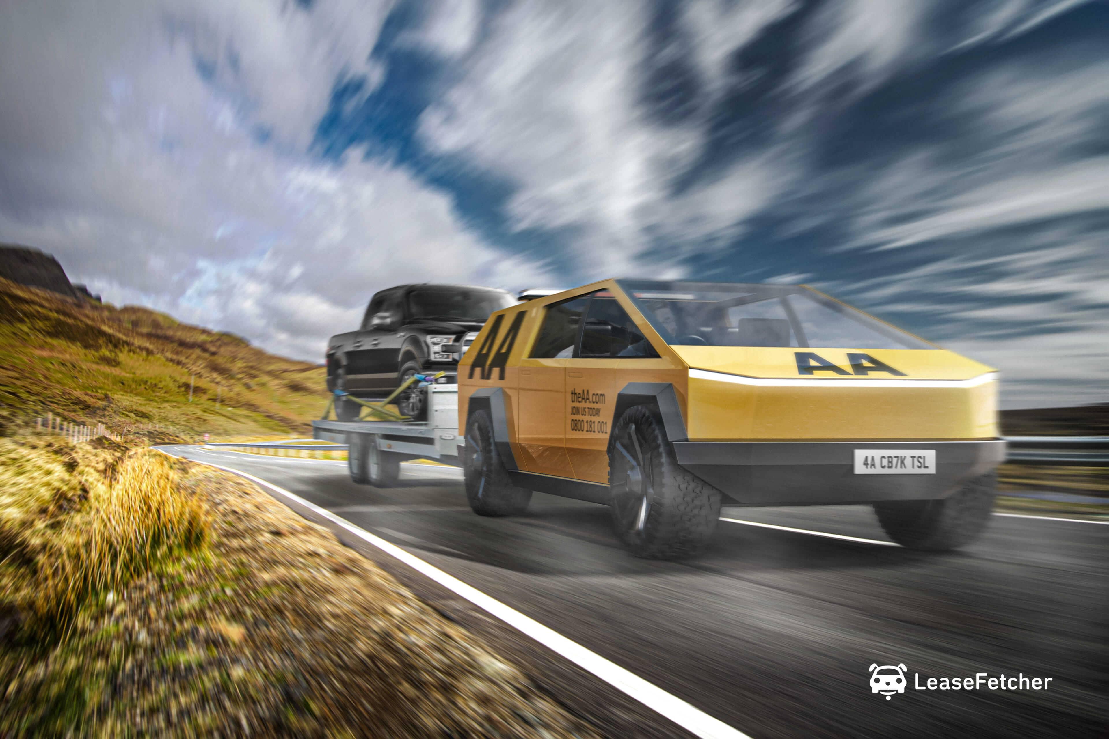 Tesla Cybertruck Roadside Assistance - LeaseFetcher