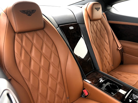 Armored Bulletproof Bentley Contiential W12 from Armormax Inside Seating
