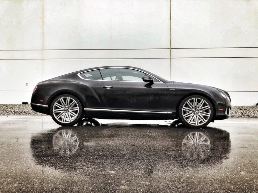 Armored Bulletproof Bentley Contiential W12 from Armormax Side Filter