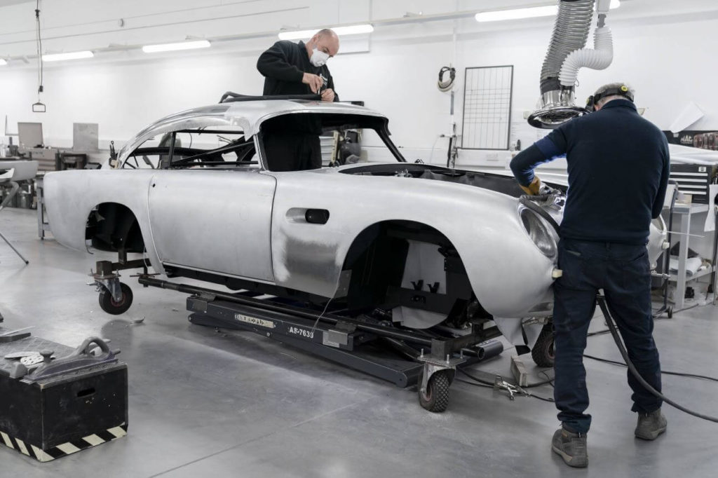 Aston Martin DB5 Production