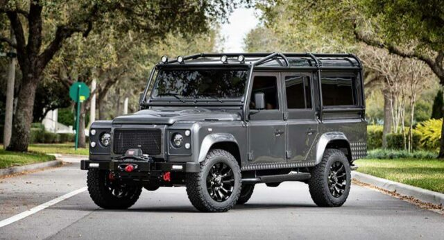 Custom Bulletproof Defender