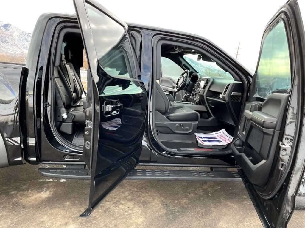 Armored Ford Raptor Interior Armormax