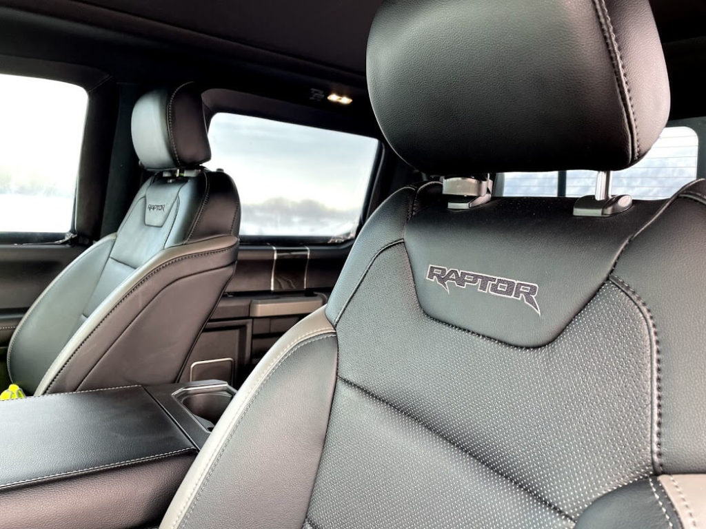 Seats Armoured Ford Raptor