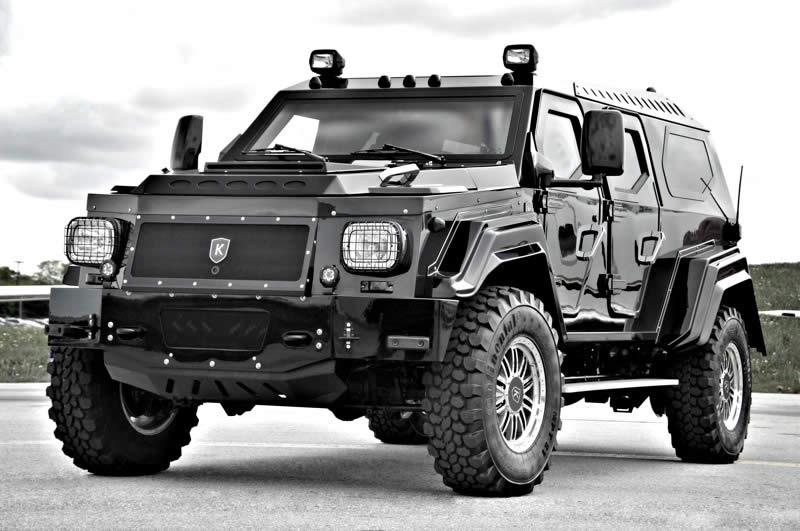 Luxury Armored Vehicle