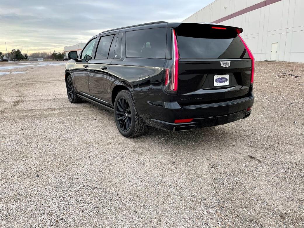Armormax Back 2021 Cadillac